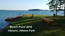 bench point, historic Athens Park
