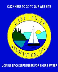 lake lanier association, adoptashoreling george ferris, shore sweep