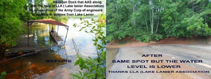 LAKE LANIER , CONTINUAL CLEANUP, VANNS TAVERN